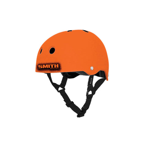Orange/Black Helmet