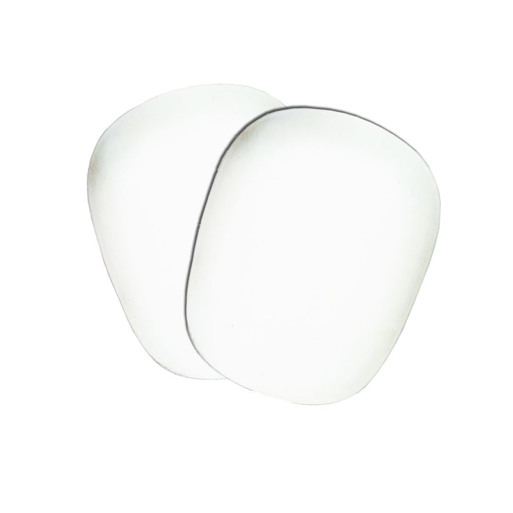 Smith Scabs Elite II Replacement Caps - White (Set of 2)