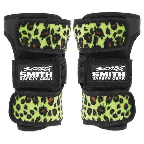 Smith Scabs - Leopard Wrist Guard - Green