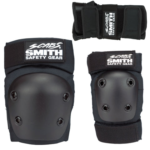 Smith Scabs - Youth 3 Pack - Black