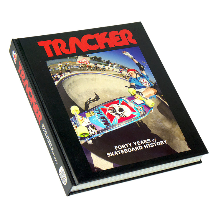 TRACKER TRUCKS FORTY YEARS of SKATEBOARD HISTORY Signed