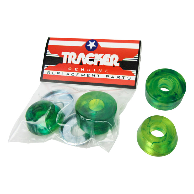 Tracker Bushing Kit-hard  Green (for 2 Trucks)
