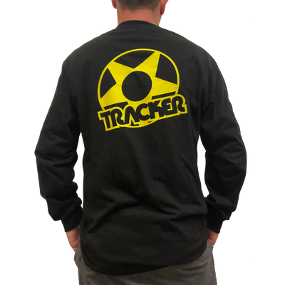 Tracker Star Long Sleeve T-shirt-Blk/Yel