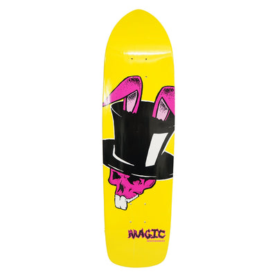 "Magic Top-Hat Deck- 8.5""x32.25""- Yellow"