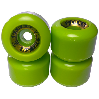 Blurr Wheels Re-issue-Lime- 60mm / 96A