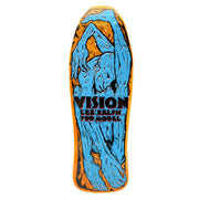 "Vision Lee Ralph Modern Concave Deck - 10.25""x30.75"" Yellow Stain"