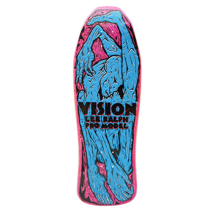 "Vision Lee Ralph Modern Concave Deck - 10.25""x30.75"" - Pink Stain"