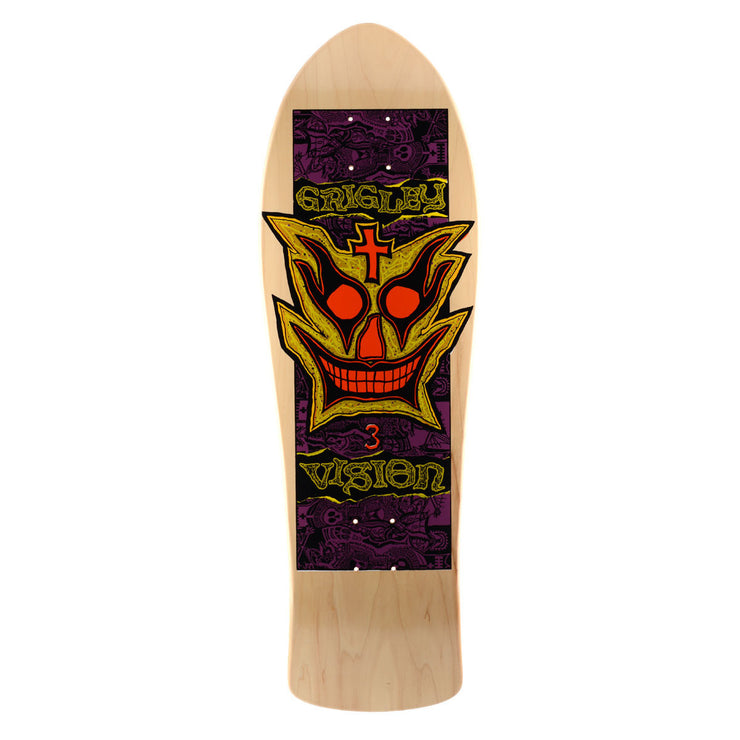 "Vision John Grigley III Deck - 9.75""x31"" - Natural"