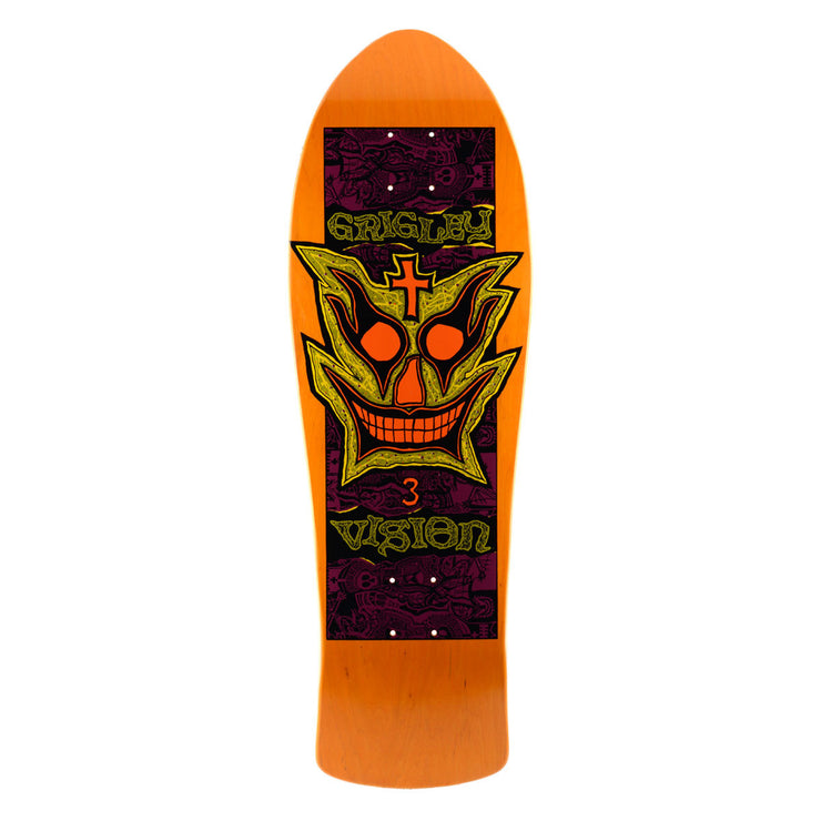 "Vision John Grigley III Deck - 9.75""x31"" - Orange"