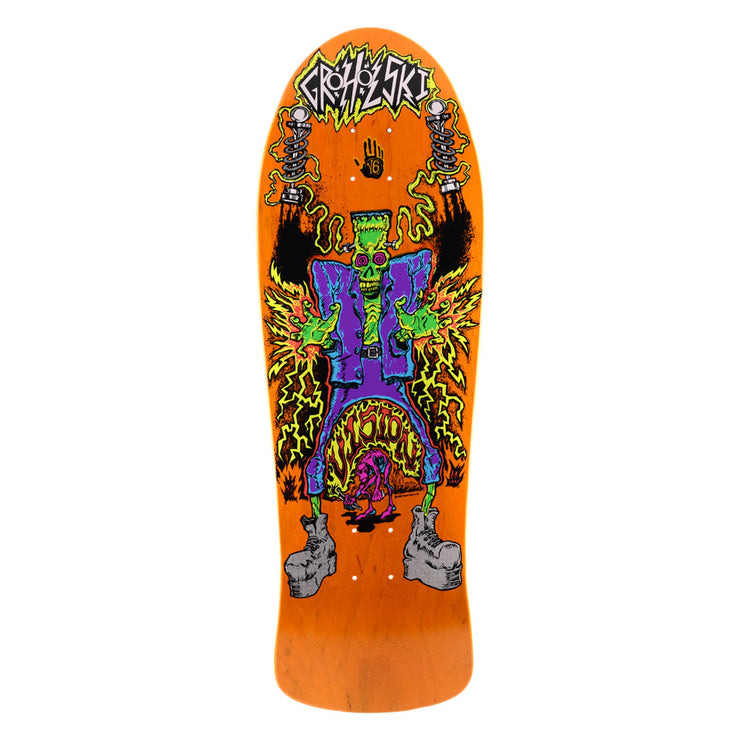 "Vision Groholski Frankenstein Deck - 10.25""x31.25"" - Orange"