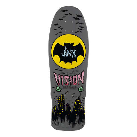"Vision Jinx Mini Deck - 9.5""x29.5"" - Grey"