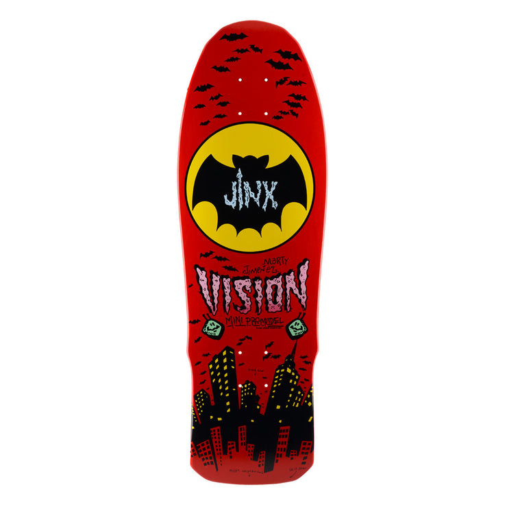 "Vision Jinx Mini Deck - 9.5""x29.5"" - Red"