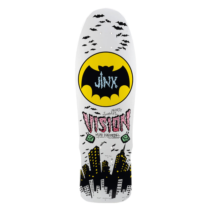 "Vision Jinx Mini Deck - 9.5""x29.5"" - White"