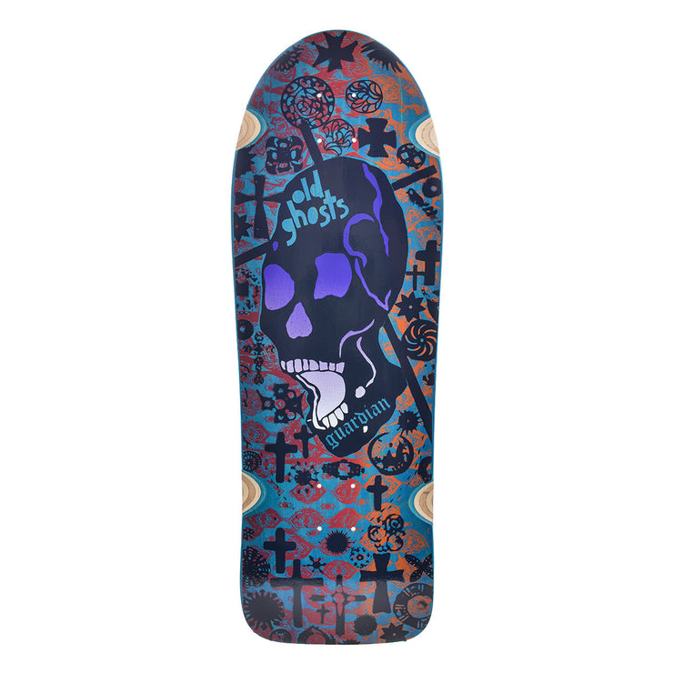 "Vision Old Ghost Deck - 10""x31.75"" - Blue"