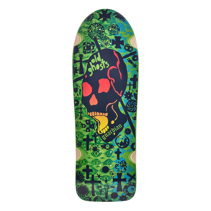 "Vision Old Ghost Deck - 10""x31.75"" - Green"