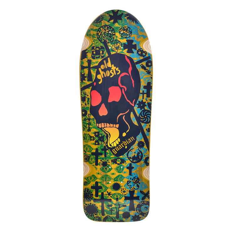 "Vision Old Ghost Deck - 10""x31.75"" - Yellow Stain"