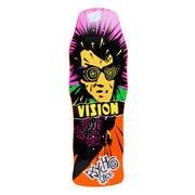"Vision Original Psycho Stick Deck - 10""x30"" - Orange"