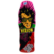 "Vision Original Psycho Stick Deck - 10""x30"" - Red"