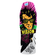 "Vision Original Psycho Stick Deck - 10""x30""- White"