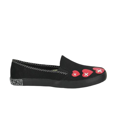 Draven Misfits Voodoo Round Toe Slip-Ons Women's Shoes