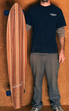 "Wave Dancer - 56"" Longboard Cruiser Skateboard - Complete"