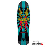 "Hosoi Skateboards Hosoi Wings Deck– 9""x32.25""- Turquoise"