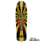 "Hosoi Skateboards Hosoi Wings Deck– 9""x32.25""- Yellow"