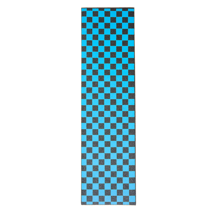 Blue Checkered Griptape Sheet 9x33