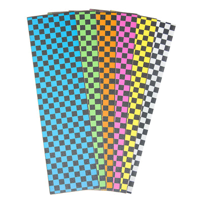 Checkered Griptape Sheet 9x33