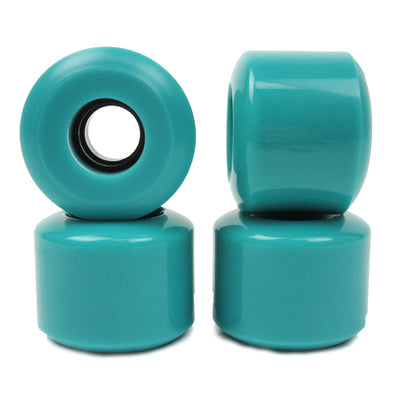 blank conical 60mm 78a blue skateboard wheels