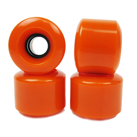 Coyote Blank Conical Wheels 60mm x 78a - Orange