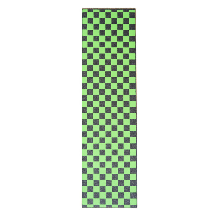 Green Checkered Griptape Sheet 9x33