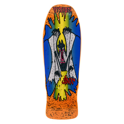 "Vision Original Jinx Concave Deck - 10""x30.25""- Orange"
