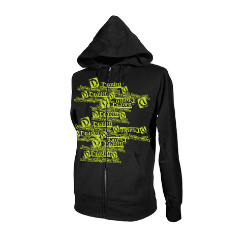 Multi Draven Hoody - Black/Green