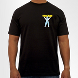 Tracker Man T-Shirt - Black