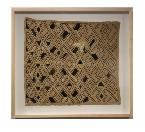 FRAMED KUBA CLOTH