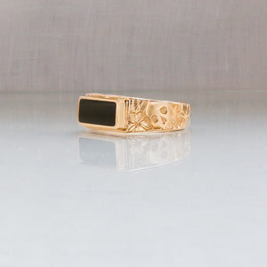 Midnight Signet Ring