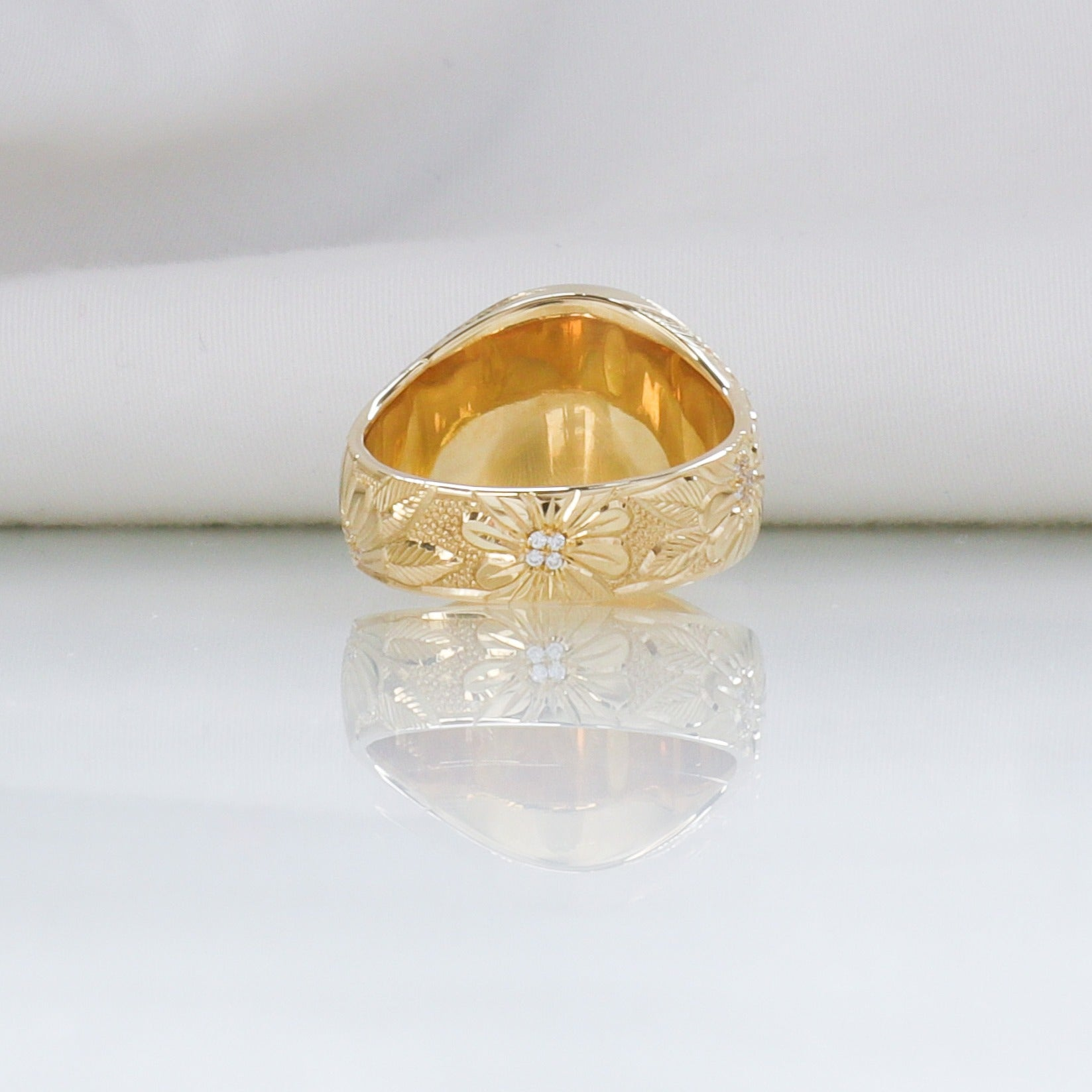 Sunrise Signet Ring
