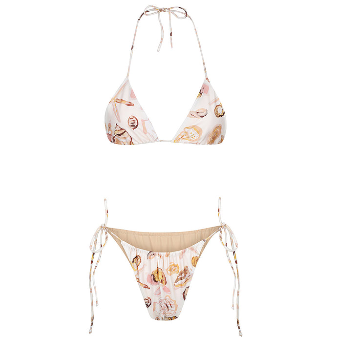 TRIANGLE SEASHELL KINI TOP