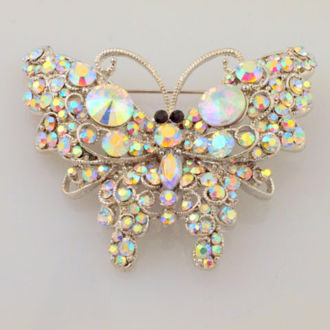 Broach- Butterfly Iridescent