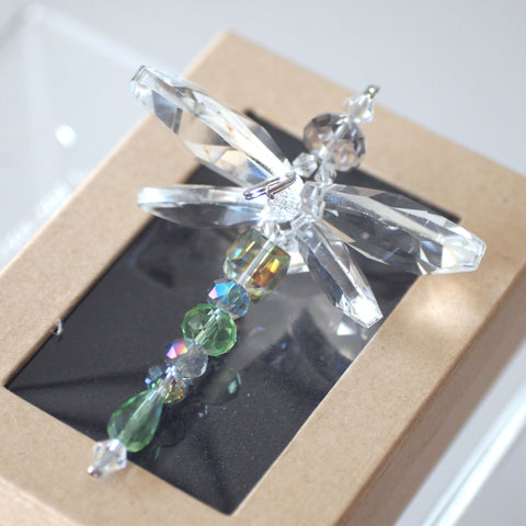 Crystal Dragonfly Green