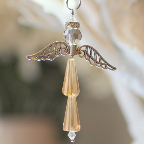 Crystal Angel:  November Topaz, For Protection and Healing