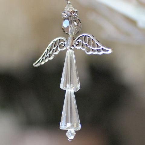 Crystal Angel:  Crystal Clear, For Protection and Healing