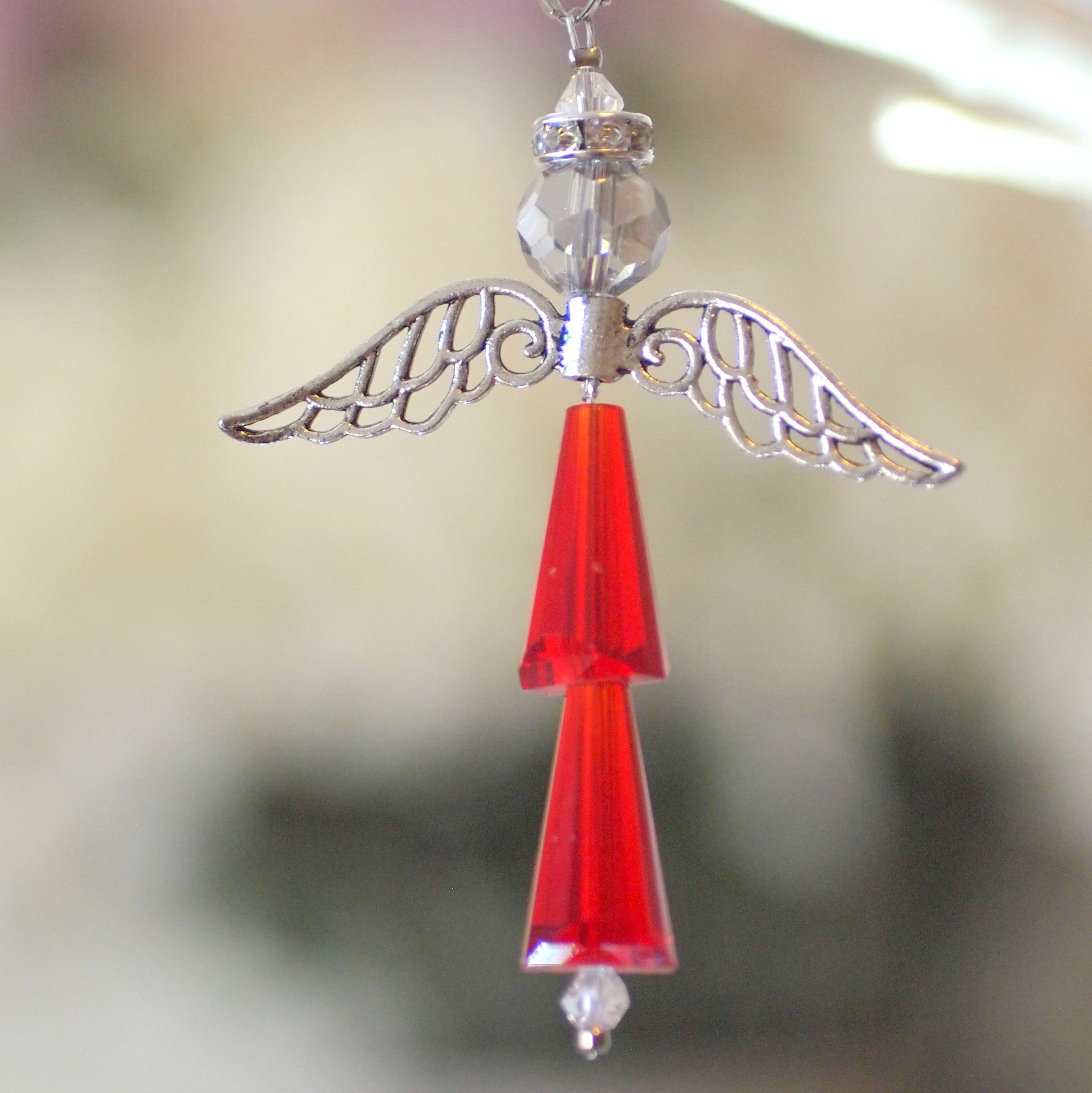 Crystal Angel:  January Garnet, For Protection and Healing