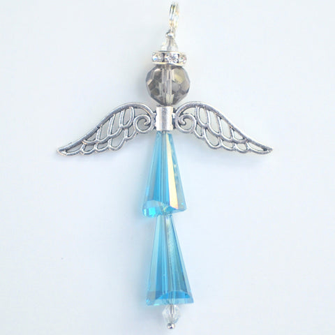 Crystal Angel:  March Aquamarine, For Protection and Healing