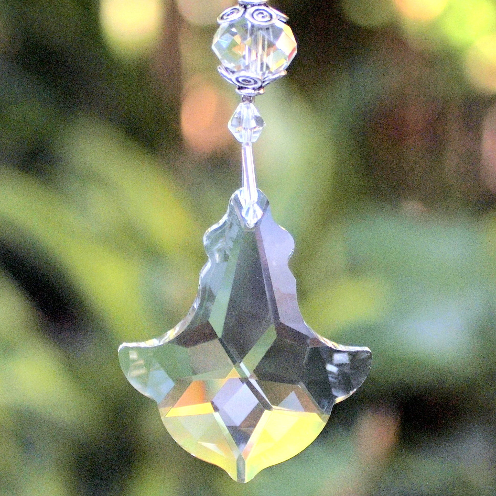 Hanging Crystal-  Anchor Big