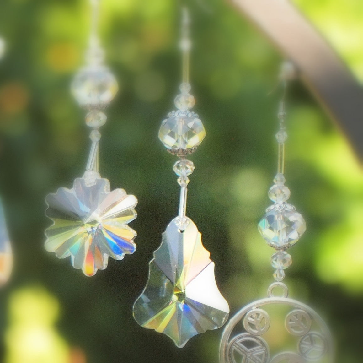 Hanging Crystal-  Bell