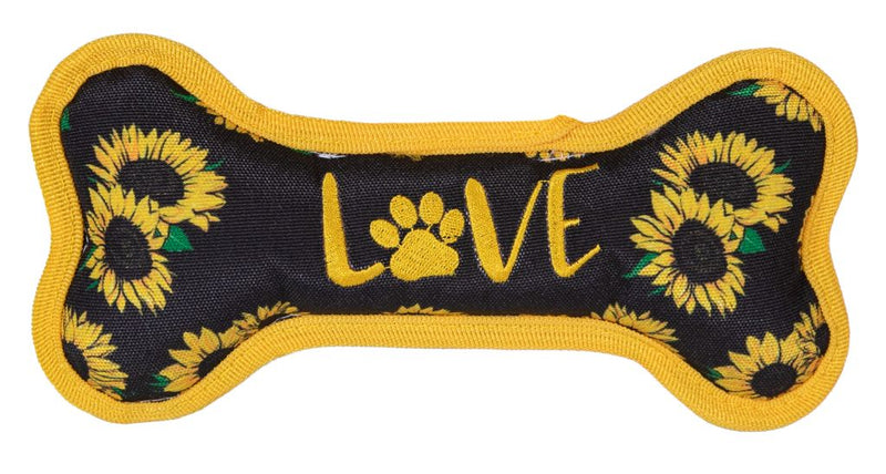 Love Sunflower Dog Toy By Simply Southern