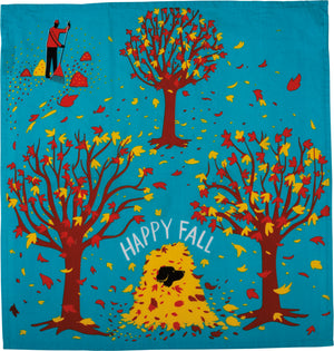 Happy Fall Dish Towel