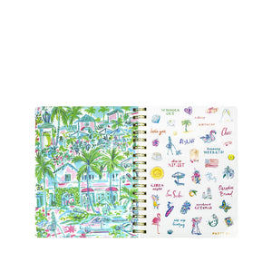 Lilly Pulitzer Large Agenda 2020/2021- Pineapple Shake (Lead Time 2 Weeks)
